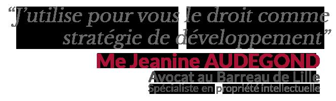 Me Jeanine Audegond